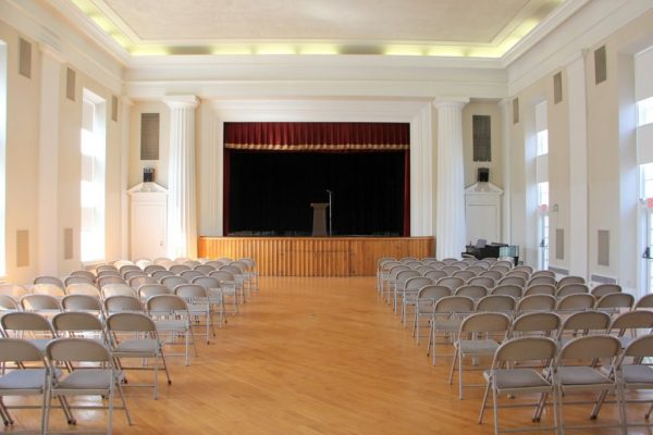 Haddon Fortnightly Womens Club Haddonfield NJ meeting hall stage