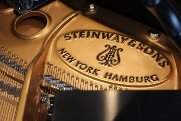 Jacobs Music Cherry Hill NJ Steinway & Sons concert piano logo