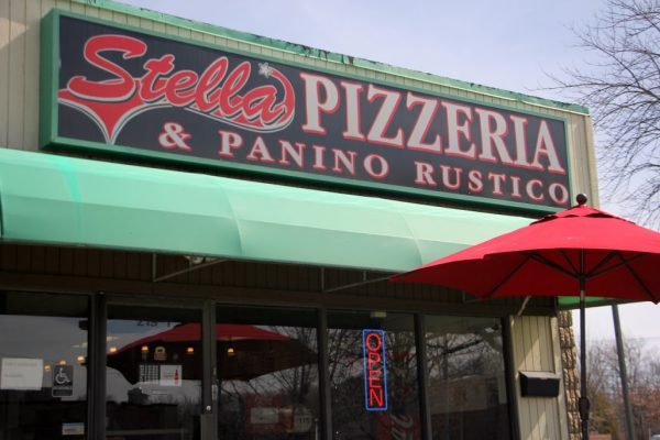Stella Pizzeria & Panino Rustico Cherry Hill NJ store front umbrella