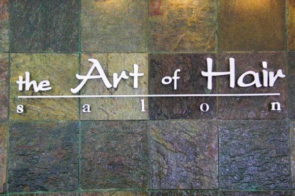 The Art of Hair Salon Old Bridge NJ sign logo