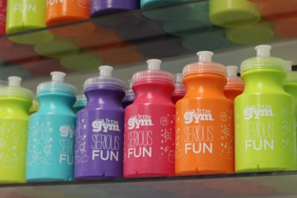 The Little Gym Marlton NJ bubble or paint bottles