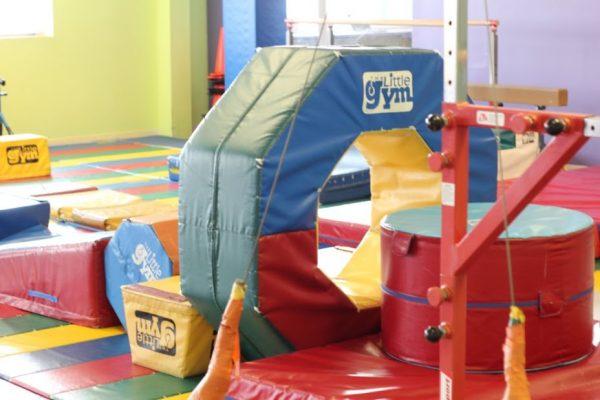 The Little Gym Marlton NJ obstacle cushions