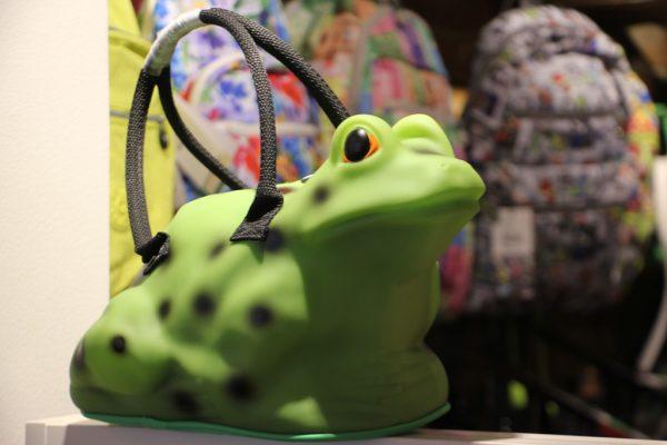 Botari Princeton NJ frog hand bag