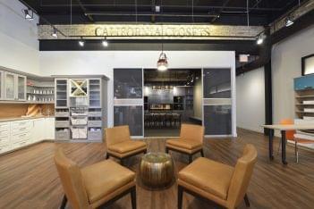 California Closets Toronto ON barrel coffee table