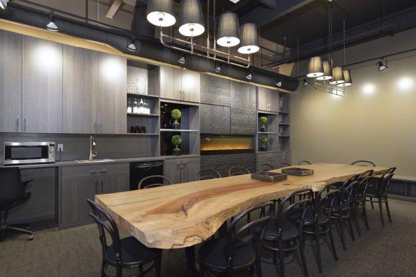 California Closets Toronto ON wood dining table