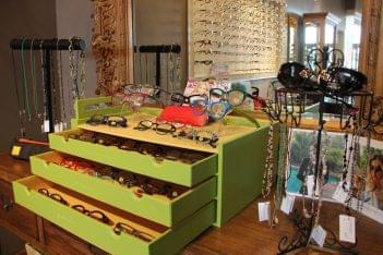 Fortuna Optical Marlton NJ eye glasses frames green box