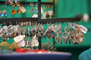 Hannah of Princeton NJ jewelery hanging earrings