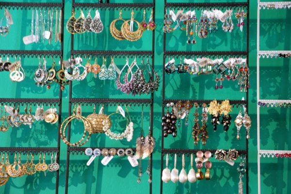 Hannah of Princeton NJ jewelry display shadow