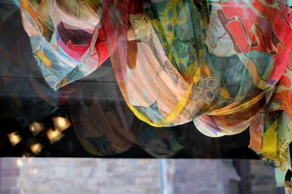 Hannah of Princeton NJ scarf reflection