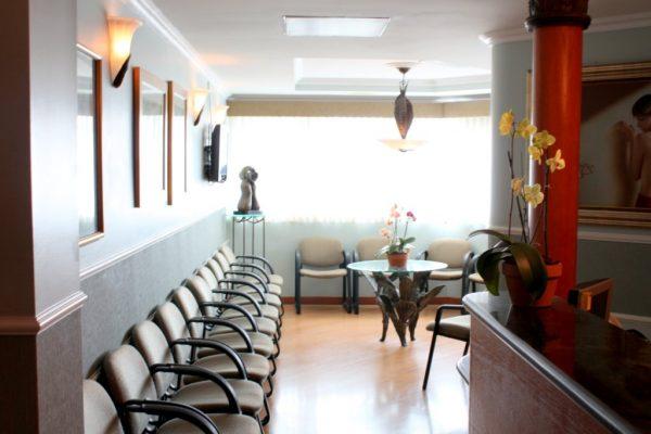 Hiram Malaret Practice San Juan PR waiting room