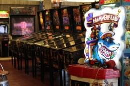 Jilly's Arcade Ocean City NJ pinball machines