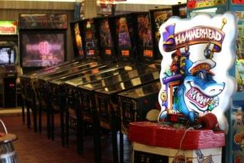 Jilly's Arcade Ocean City NJ pinball machines