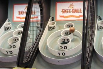 Jilly's Arcade Ocean City NJ skeeball