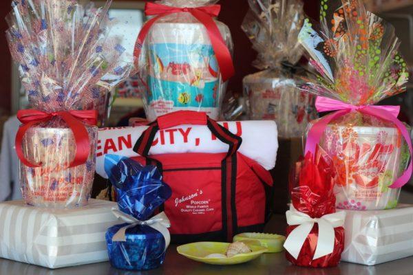 Johnson's Popcorn Ocean City NJ gift wrapping