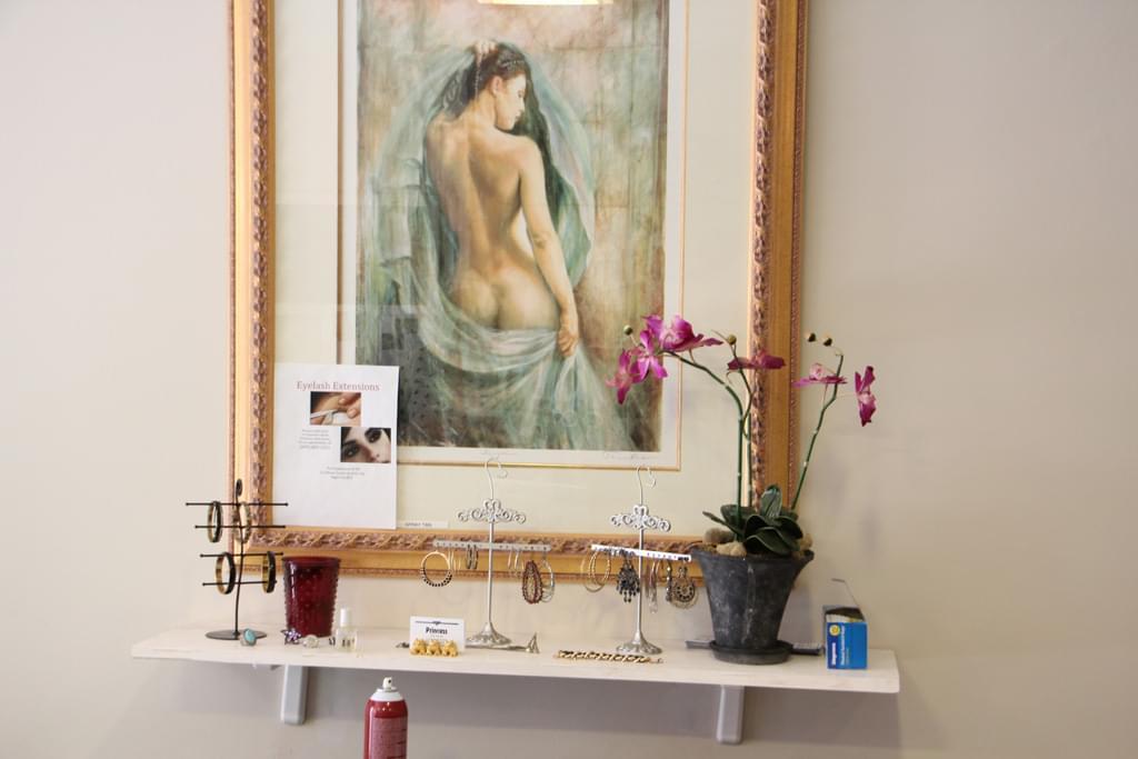 Princess Nail Salon Princeton NJ framed art jewelry