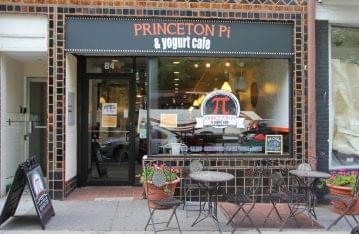 Princeton Pi and Yogurt cafe Princeton NJ