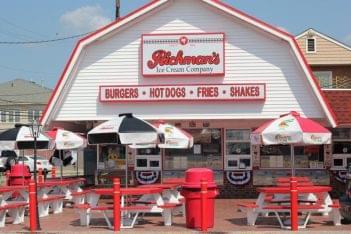 Richman's Ice Cream Company Brigantine NJ Burger stand Hotdog Fries Shakes