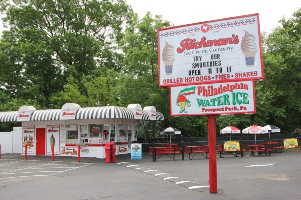 Richmans Ice Cream Prospect Park PA