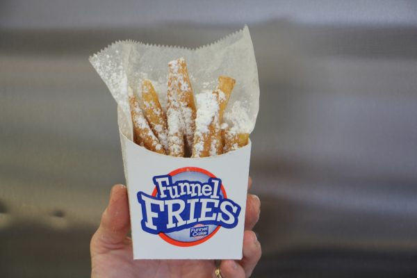 Richmans Ice Cream Prospect Park PA funnel fries