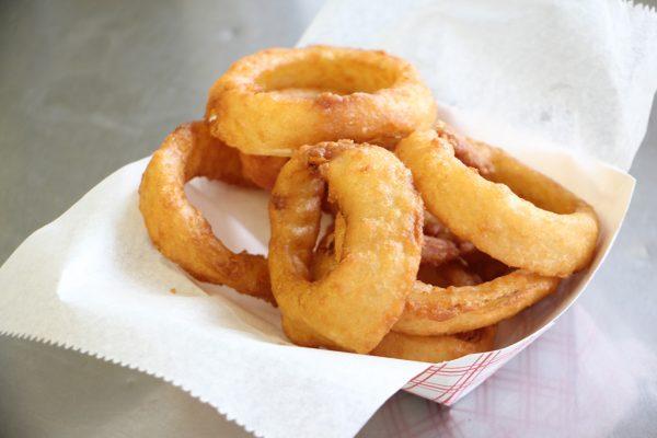 Richmans Ice Cream Prospect Park PA onion rings