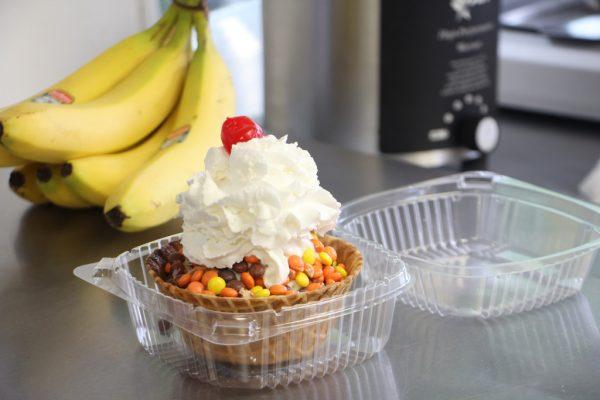 Richmans Ice Cream Prospect Park PA sundae