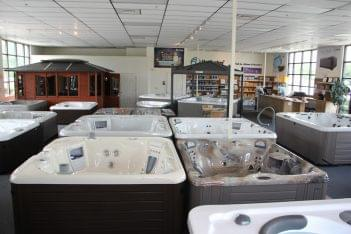 Spring Dance Hot Tubs Exton PA  floor room