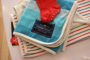 ToobyDoo Princeton NJ baby socks blanket