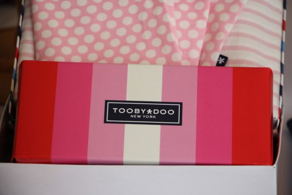 ToobyDoo Princeton NJ pink stripe box