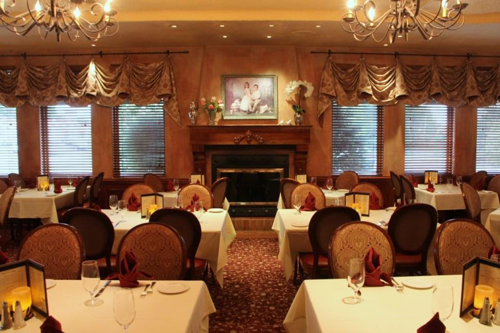 Filomena cucina rustica see inside restaurant west for Best private dining rooms nj