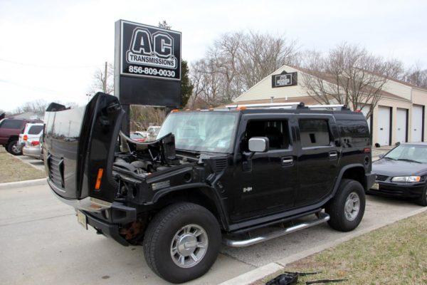 A.C. Transmissions Inc West Berlin NJ black h2 hummer