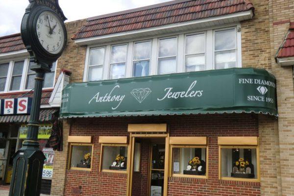 Anthony Jewelers Palmyra NJ store front