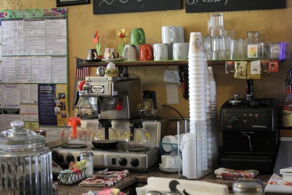 Barista Café Palmyra NJ coffee station