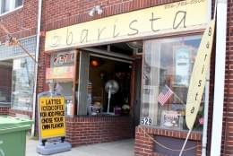 Barista Café Palmyra NJ store front