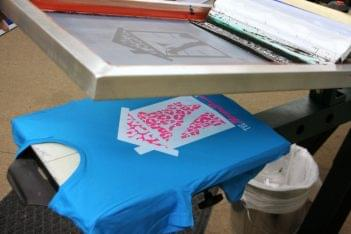 Blue Ink Studio Lawrenceville NJ Design and Print t-shirt tee