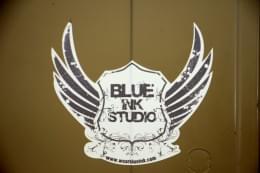 Blue Ink Studio Lawrenceville NJ Design and Print wings crest logo