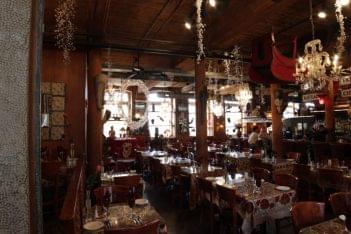 CAV Restaurant Providence RI bar dining area