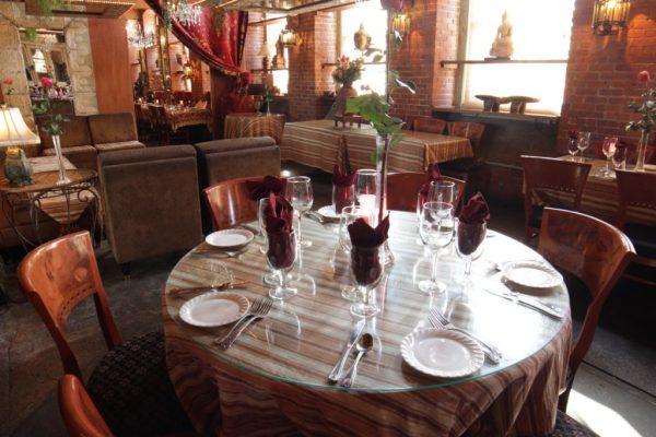 CAV Restaurant Providence RI round table