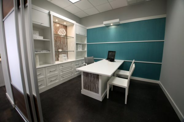 California Closets Palm Beach Gardens FL teal room