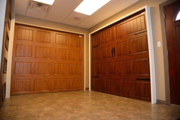 Capital City Garage Doors Round Rock TX floor display model