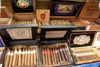Churchill's Tobacco Shop Inc Cherry Hill NJ cigars USMC salute to arms