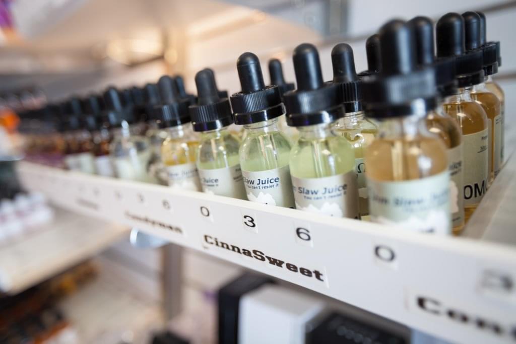 Club Vape Hebron KY vapor juices vials closeup