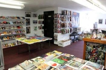 Comic Sanctuary New Brunswick NJ comic book store