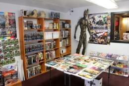 Comic Sanctuary New Brunswick NJ comic books groot