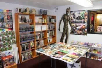 Comic Sanctuary New Brunswick NJ comic books groot