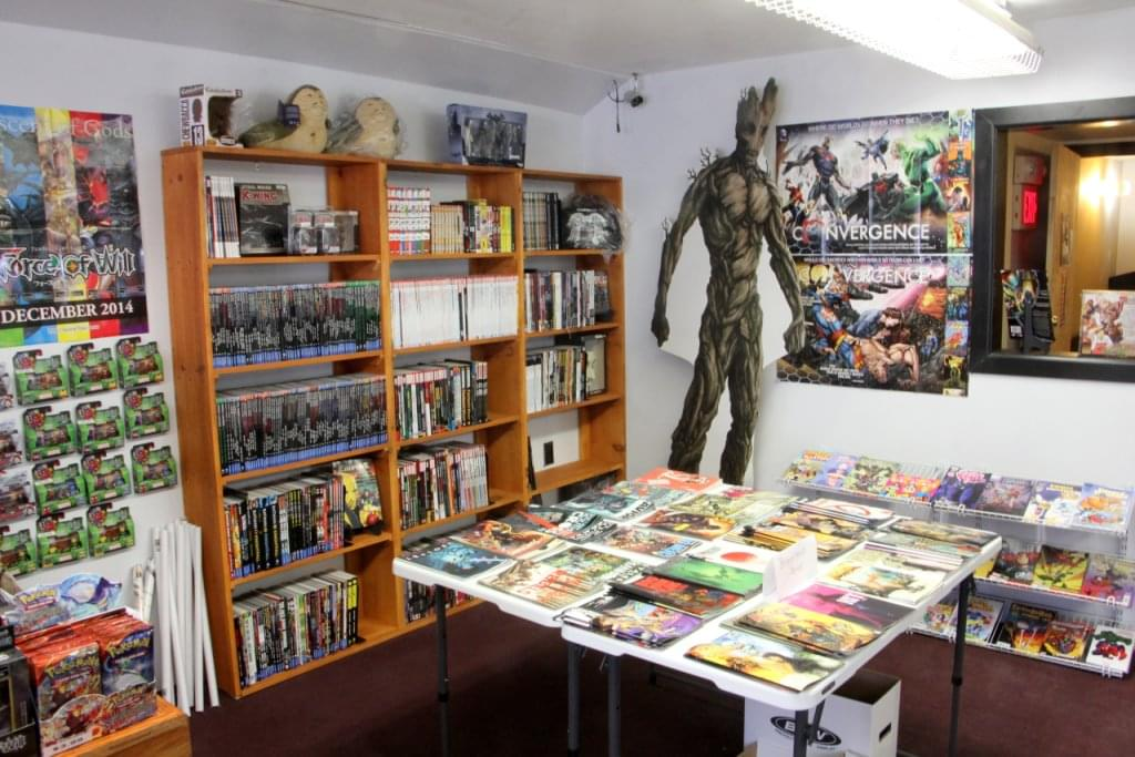 Comic Sanctuary – See-Inside Retail, New Brunswick, NJ