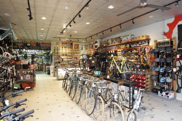 DASH Bicycle Shop Providence RI floor display