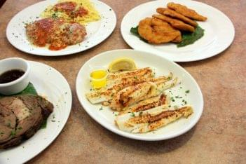 Elmer Diner Elmer NJ tilapia chicken fingers pasta chicken parm steak