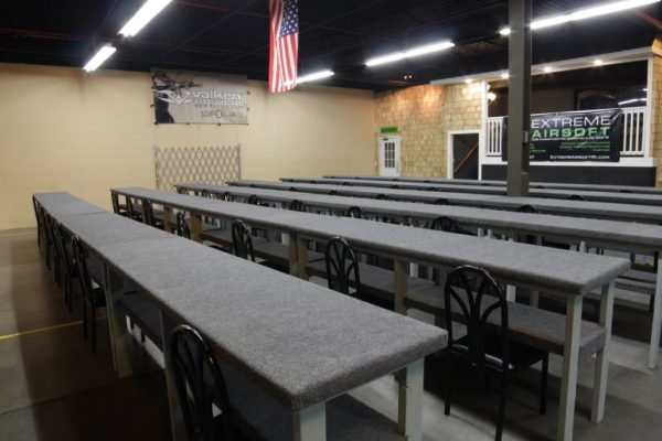 Extreme Airsoft South Kingstown RI training room
