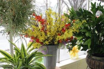 Floral Designs by LiRog Providence RI flowers vase
