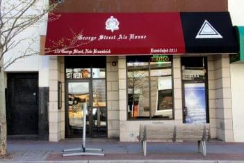 George Street Ale House New Brunswick NJ bar store front